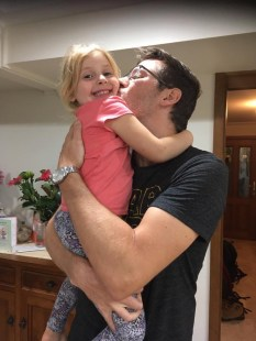 Ben finally reunited with his nieces, Sydney, Australia