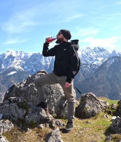 Bergwanderung mit Bergblut – annablogie