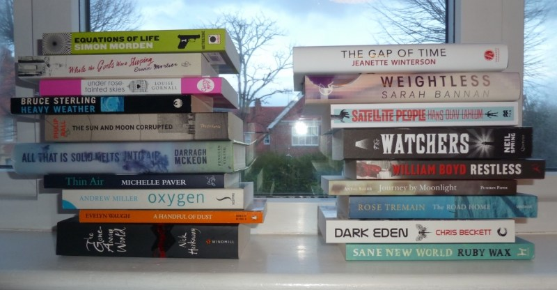 Book Spine Poetry #1