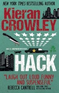 The funniest crime novel I've read since I discovered Christopher Brookmyre...