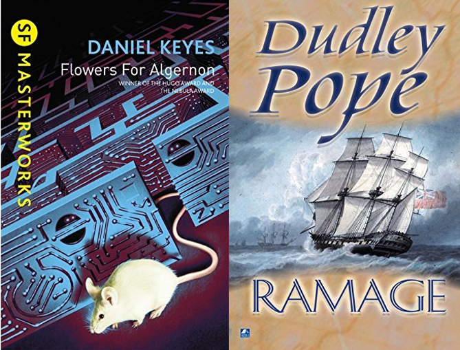 Aug/Sept Book Group Report: SF & Naval books