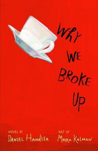 It's a break-up novel...