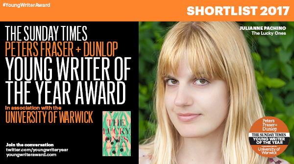 PFD Sunday Times Young Writer of the Year shortlist - Julianne Pachico