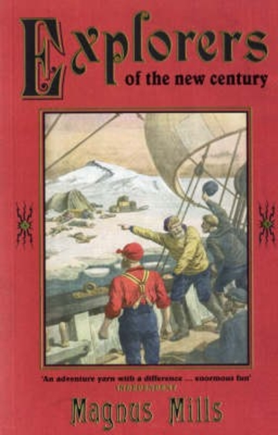A novel about men and their 'work' – it must be MagnusMills!