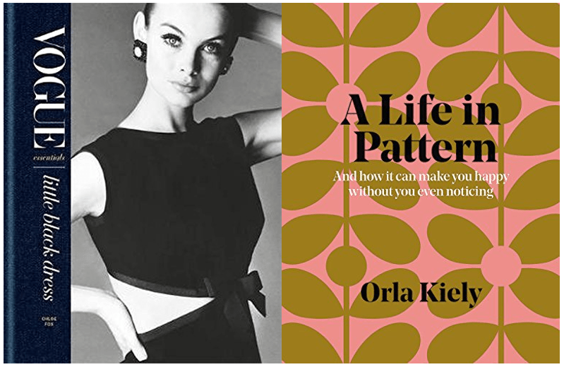 Two books about fashion and design...