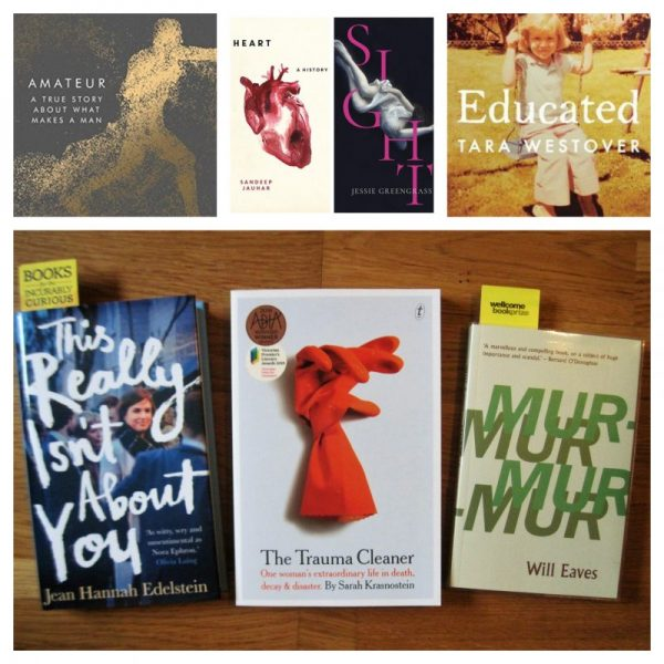 Wellcome Book Prize 2019: Shadow Panel Shortlist