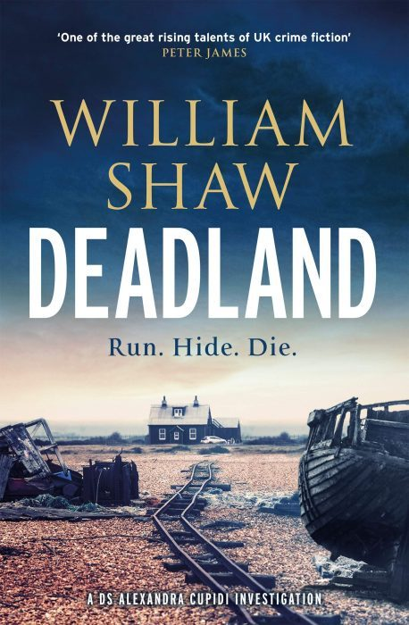 Blogtour - Deadland by William Shaw
