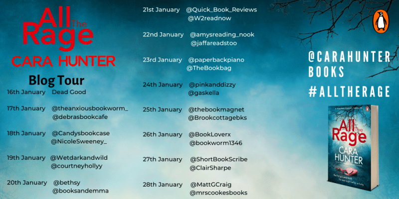 Blog Tour - Cara Hunter - All the Rage