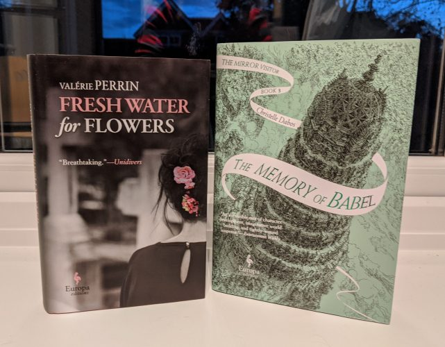 One Translator, Two Novelists - two translated by Hildegarde Serle!