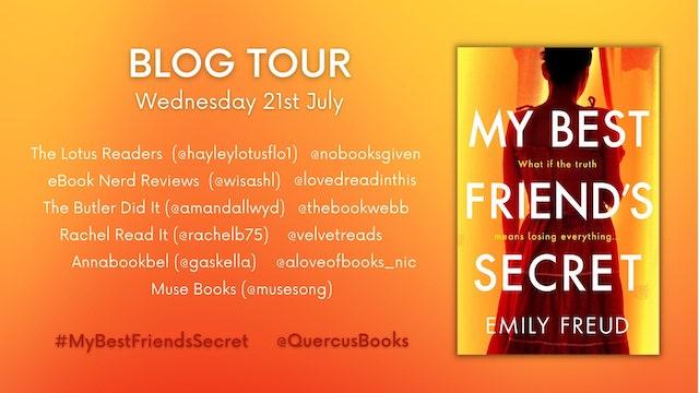 My Best Friend's Secret by Emily Freud - blog tour