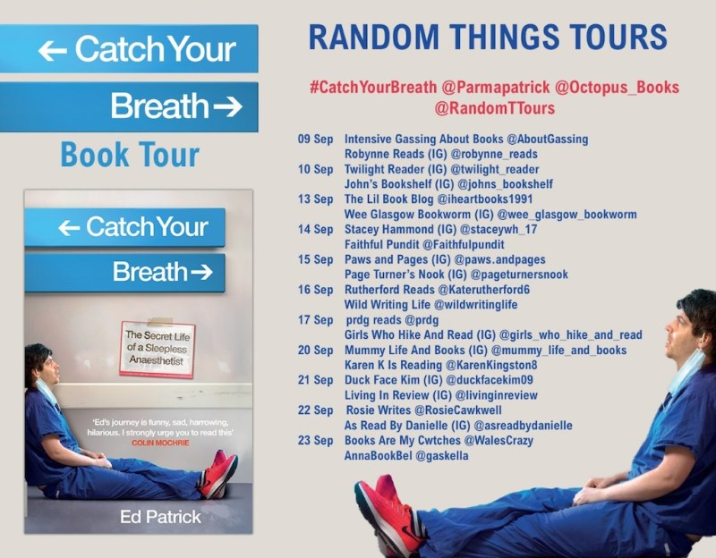 Catch Your Breath by Ed Patrick - Blog Tour