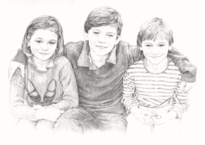 Drawing Gallery • Pencil Portrait Artist Anna Bregman