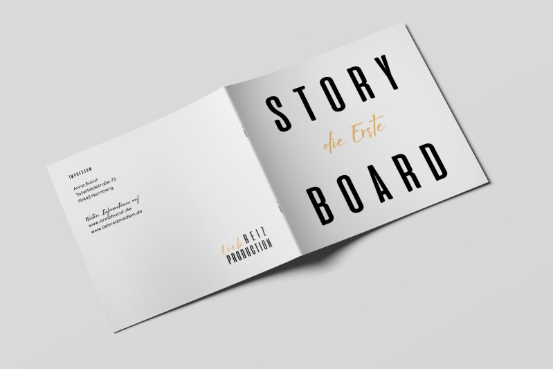 Storyboard Die Erste