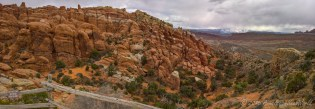 Fiery Furnace Viewpoint (there are ranger led walking tours also between the boulders of Fiery Furnace)