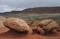 View on the short trail to Upper Delicate Arch Viewpoint