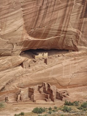 White House which was built and occupied about 1000 years ago by Ancestral Puebloans