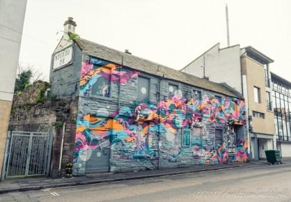 Street art on Calton Rd