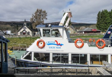 Going on a Loch Ness cruise