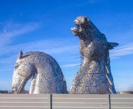 Kelpies in Falkirk