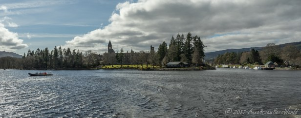 Fort Augustus and Monastery Tower