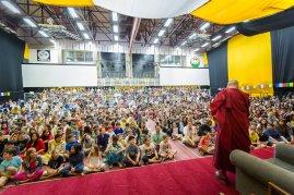 Dalai Lama, photographer Mark Cowan