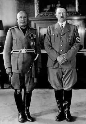 Mussolini and Hitler, 1940