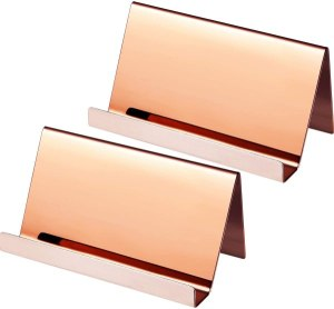 Stainless Steel Business Card Holders