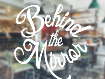 Behind the mirror podcast logo