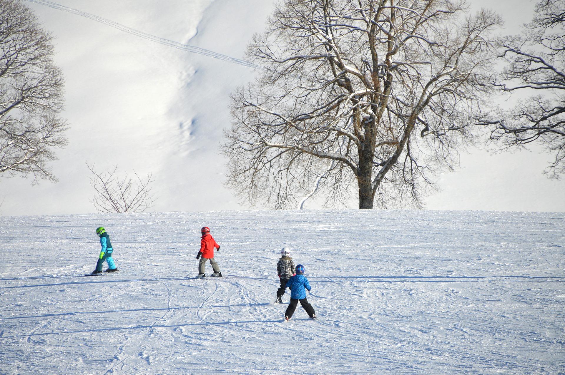 Precauciones para ir a la nieve con niños