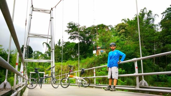 Jembatan Gantung Kali Boyong