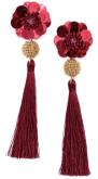Boucles d_oreilles rouges H et M
