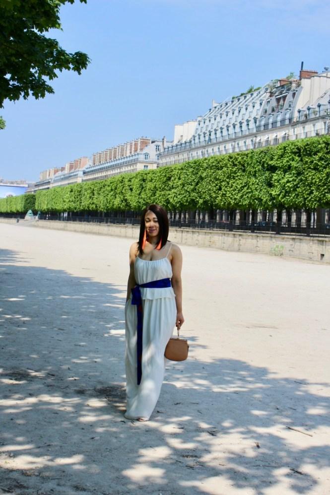 inspiration mode robe longue blanche