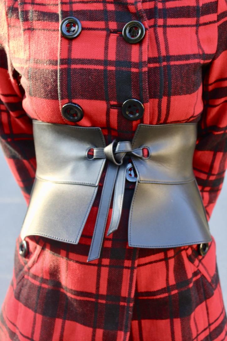ceinture à basques topshop