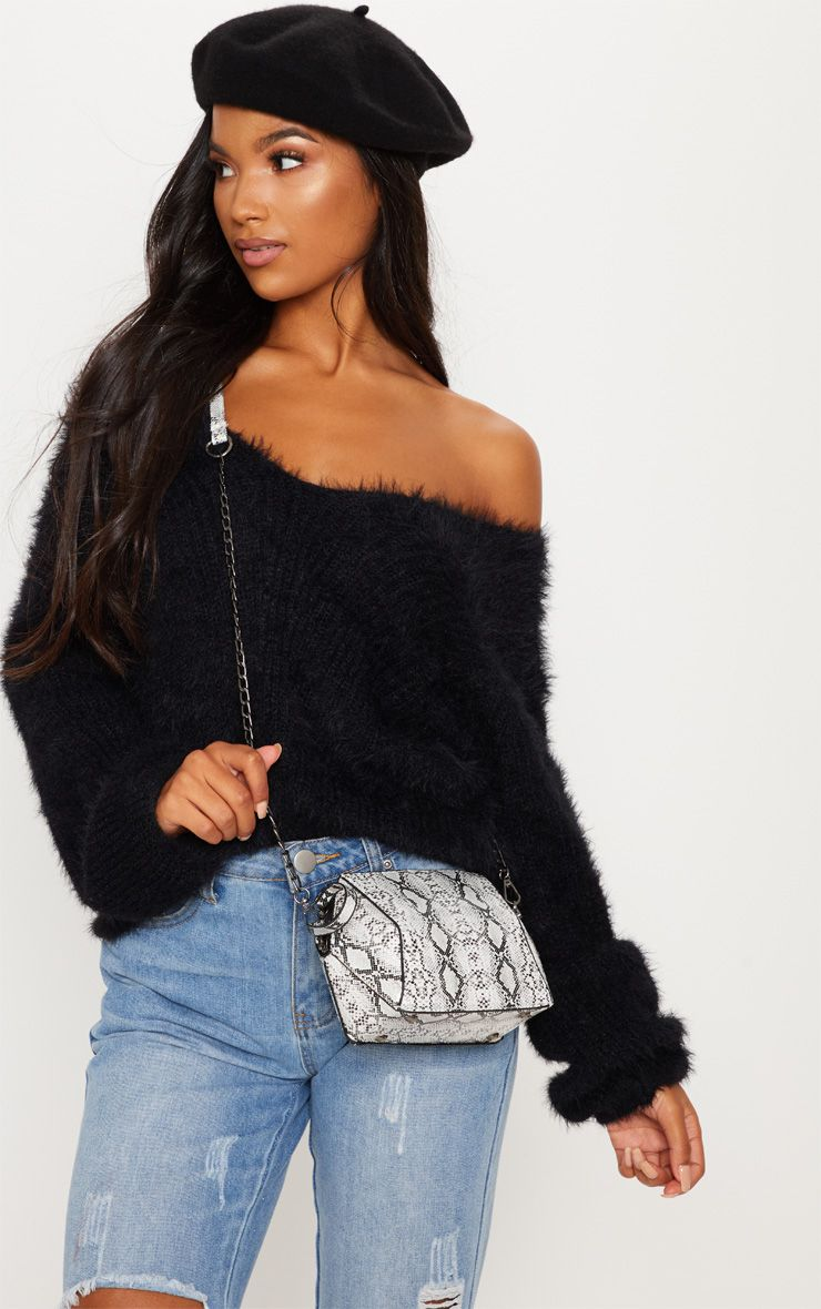 pull en maille prettylittlething