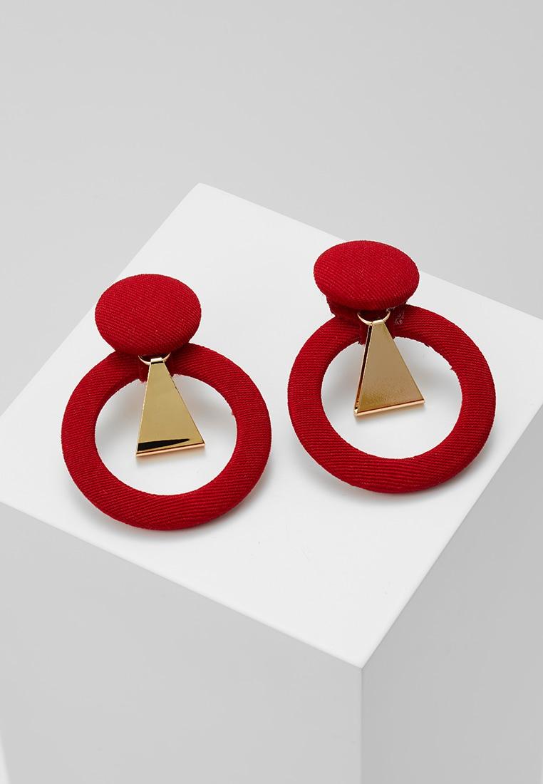 boucles d'oreilles rouges Aldo