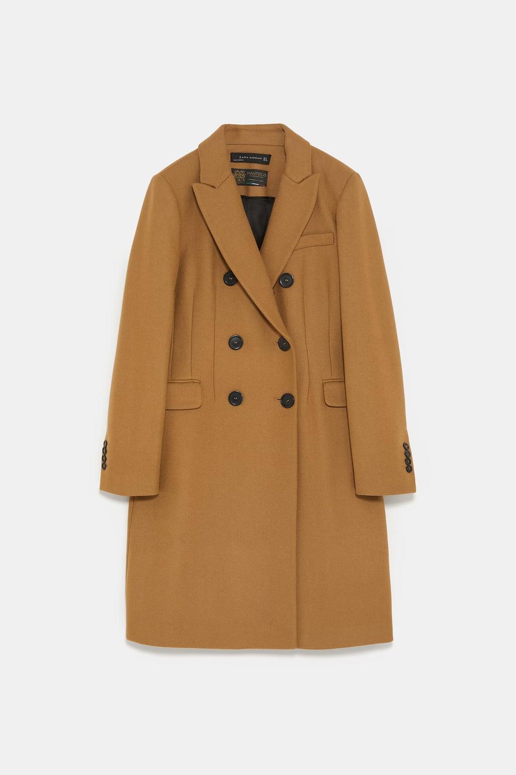 manteau boutonnage croisé