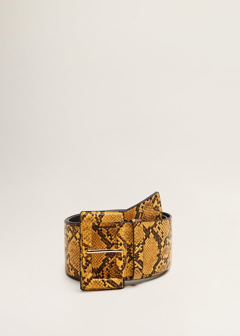 ceinture serpent mango