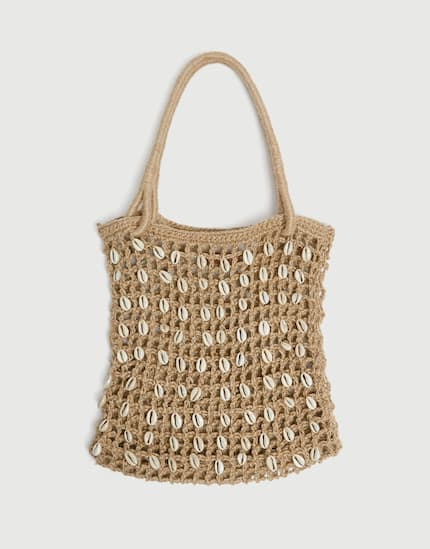 sac cabas coquillages pull and bear