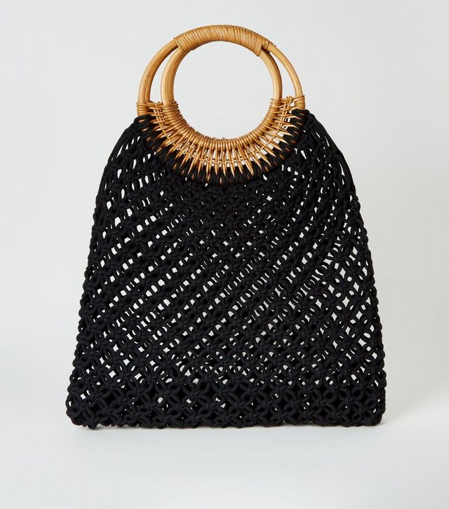 sac en macramé new look