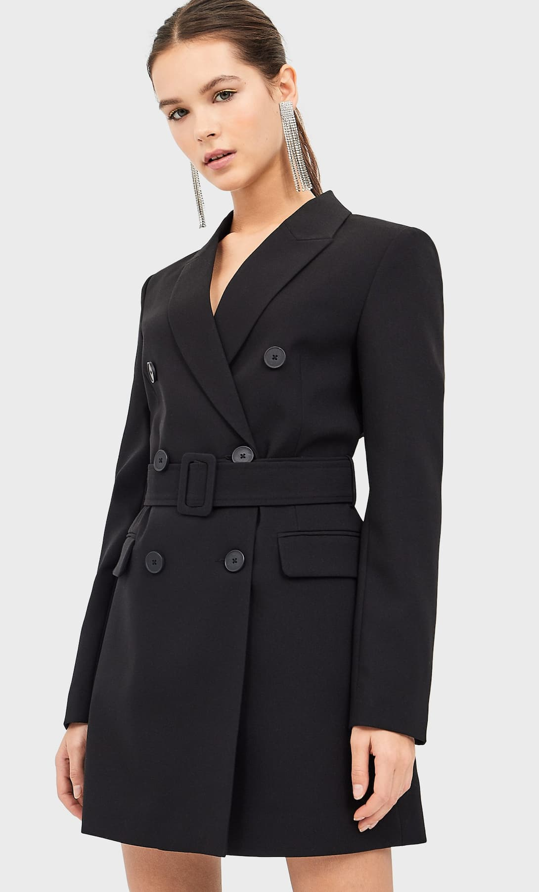 veste robe noire