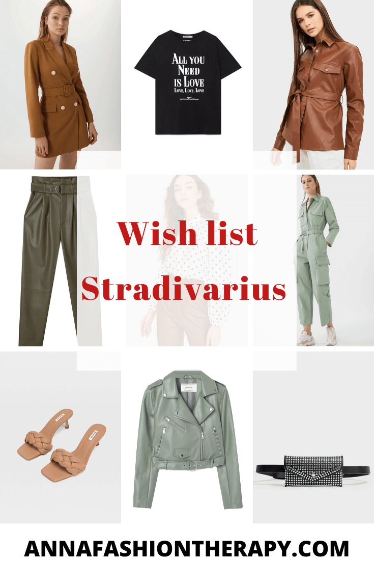 wish list stradivarius blog