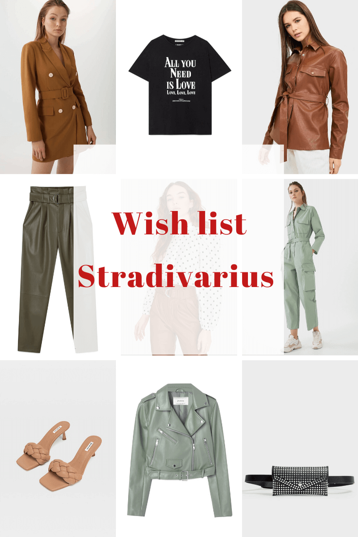 wish list stradivarius
