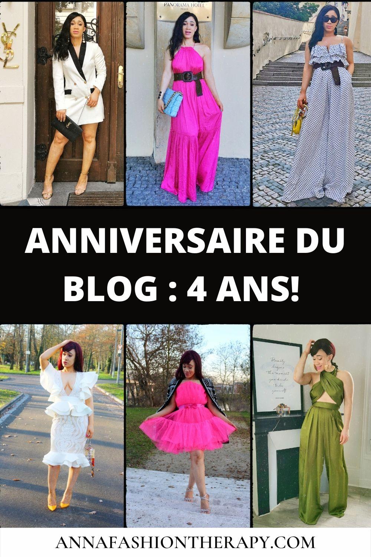 bilan anniversaire de blog après 4 ans
