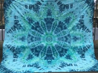Ice Dyed Mandala Sheet