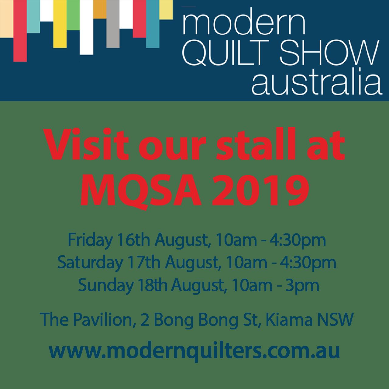 Modern Quilt Show Australia