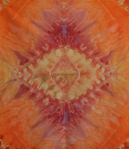 Hand Dyed Mandala
