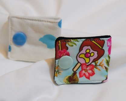Clouds and Ice Cream Coin Purse