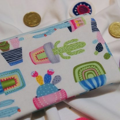 Potted Cactus Coin Purse