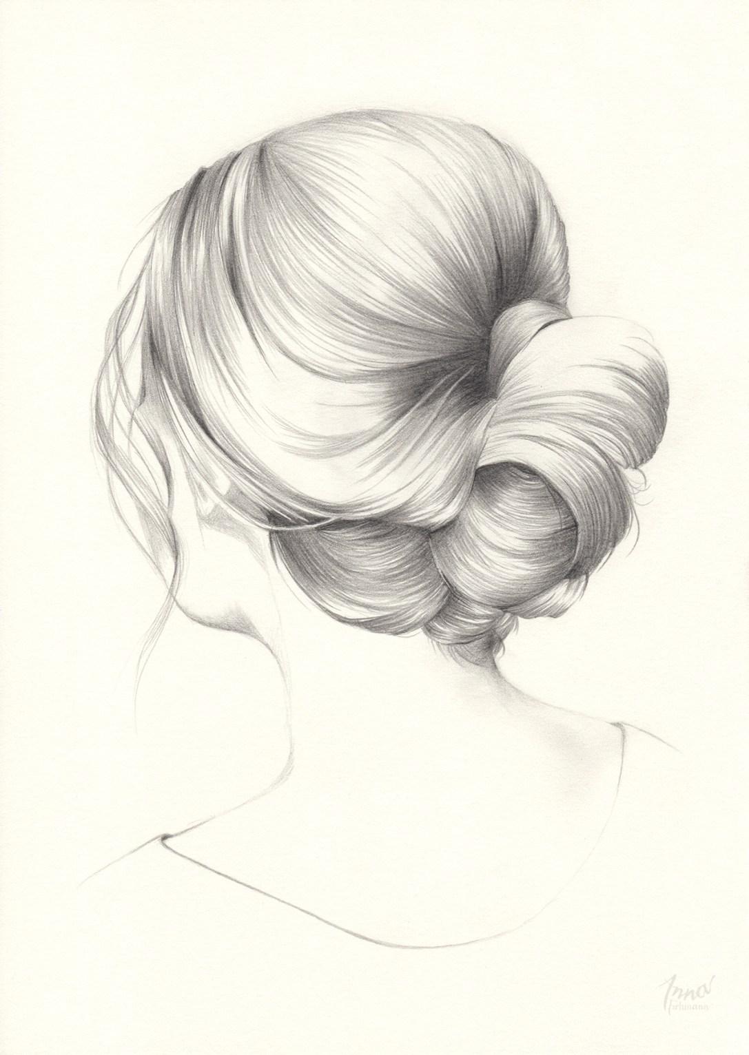 GIRL II   pencil on paper