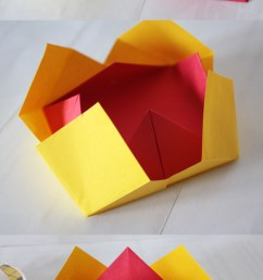 origami bowls made from fabulous origami boxes by tomoko fuse [ 650 x 1424 Pixel ]